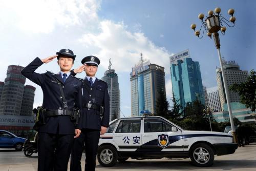 杭州公安局运用短信群发平台开展宣传工作